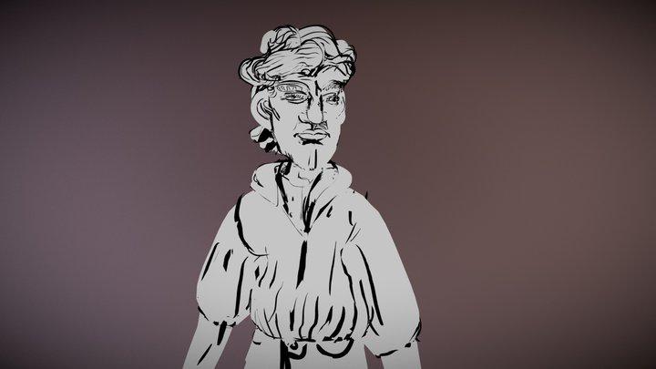 TiltBrush Portrait 3D Model