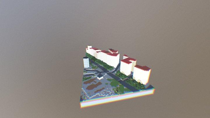 Minecraft® à la carte 3D Model