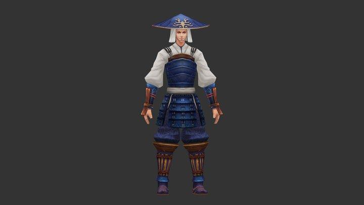 Japan soldier 3D Model