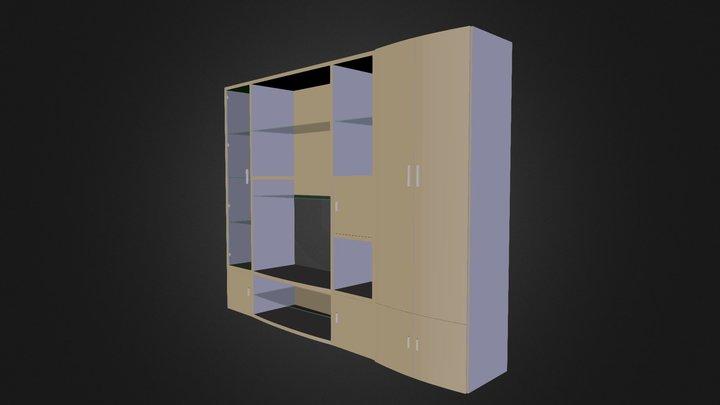 Sideboard N160509 3D Model