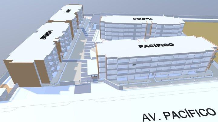 Condominio 4 Esquinas 3D Model
