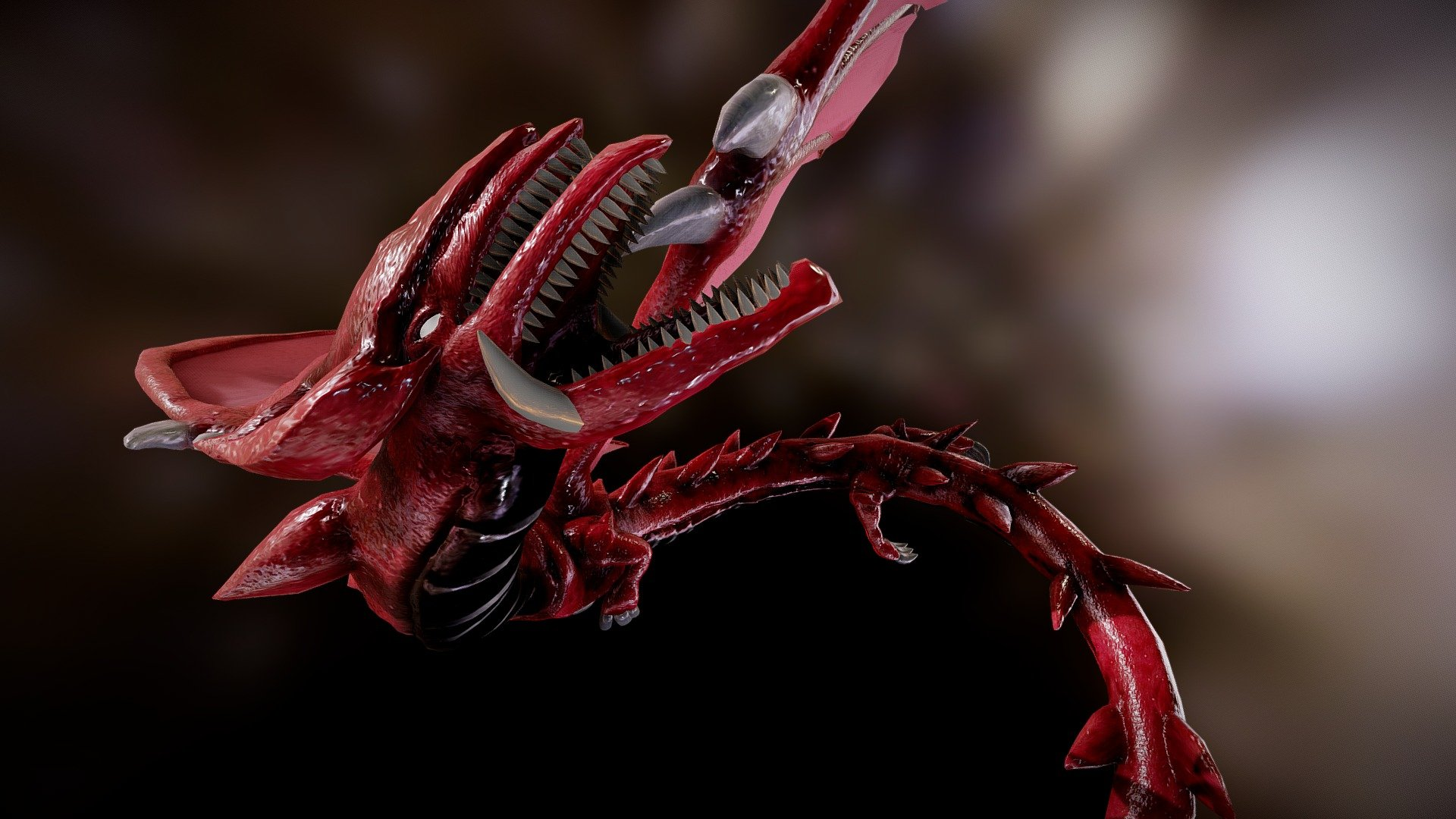 Yu Gi Oh Slifer The Sky Dragon Osiris 3d Model By