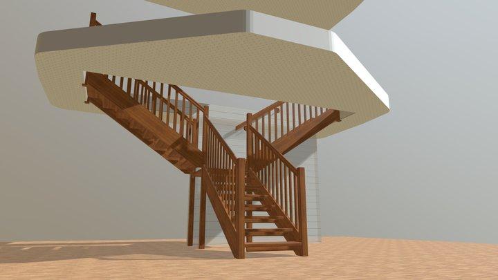 New stair 3D Model