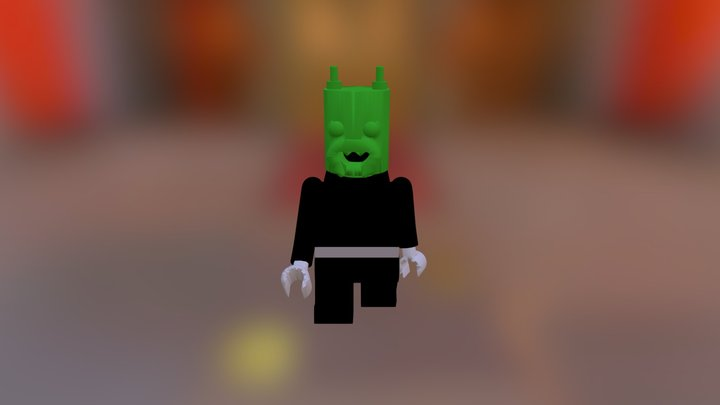 Lego Man Assembly New 3D Model