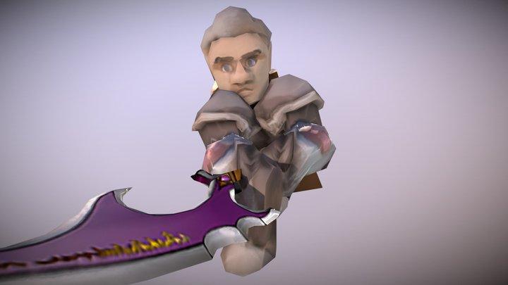 HGs pack => Holy Swordsman 3D Model