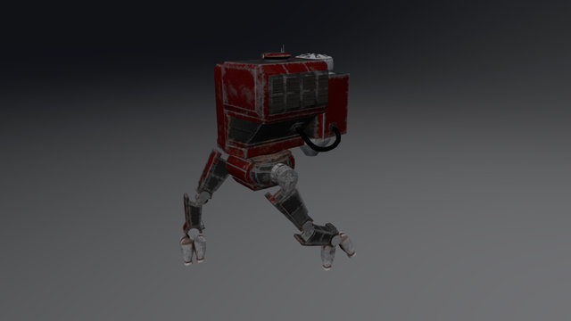 Mech Light 3D Model