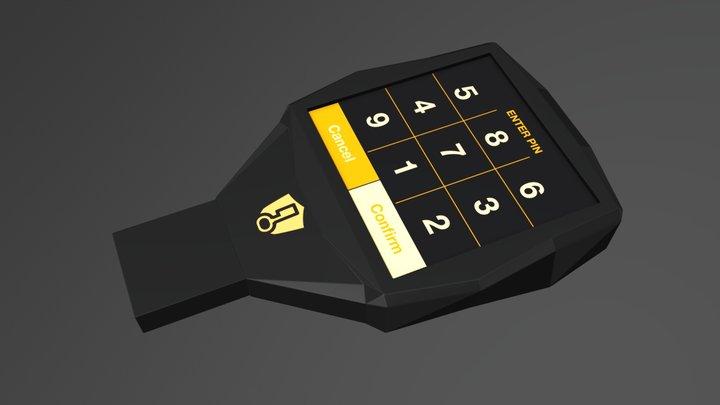 EIB - The original & most secure hardware wallet 3D Model