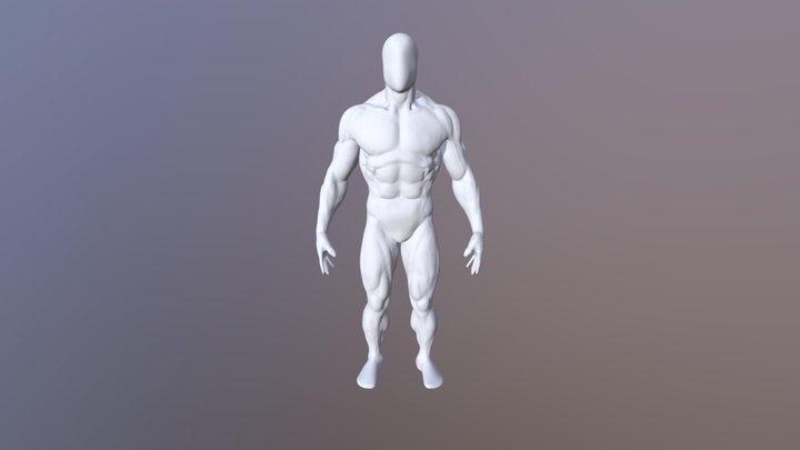 Bodbuikder Fbx High 3D Model