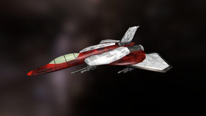 Jet Raiden by Roger de Tourneville 3D Model