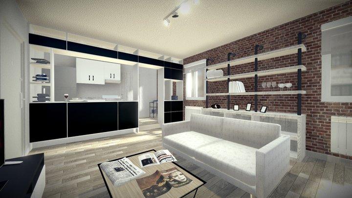 Dutch Apartment 3D Model
