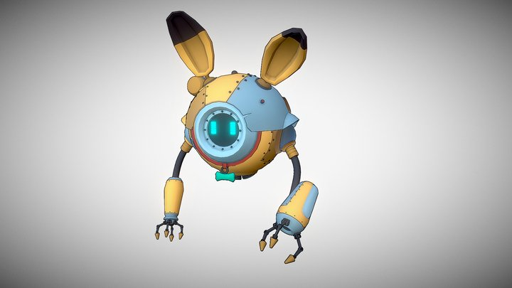 Robo_V1 3D Model