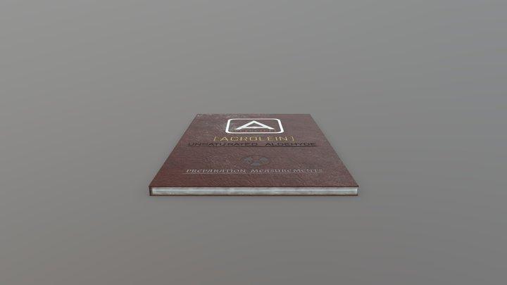 ACROBOOK 3D Model