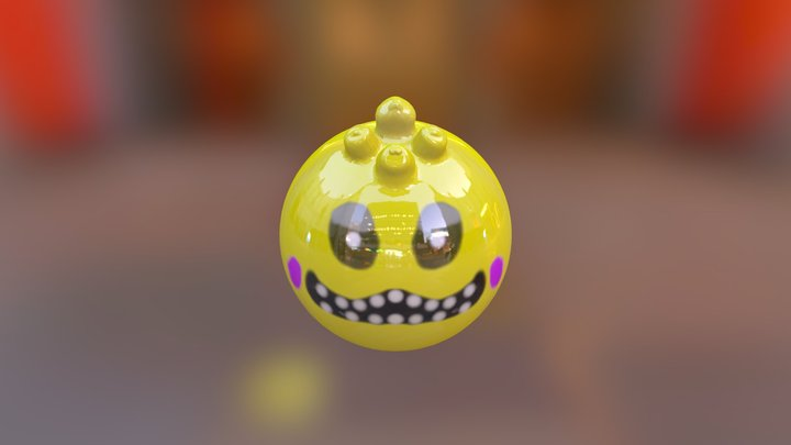 toy chica 3D Model
