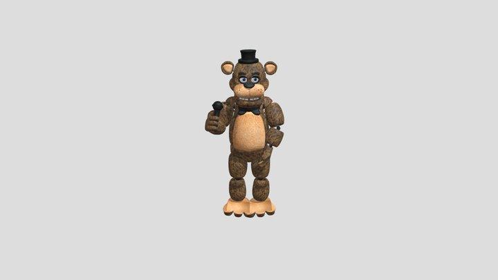 Freddy-fnaf 3D Model