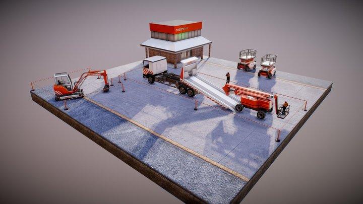 Coates Hire Safe Loading 3D Model