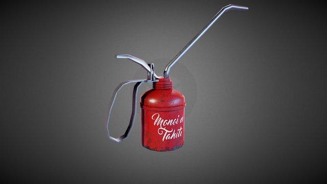 Oil Can 3D Model