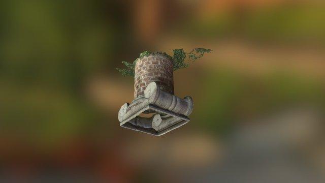 Pavillion III Garden Capitol 3D Model