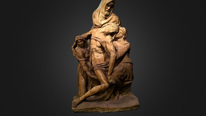 Pietà Bandini 3D Model