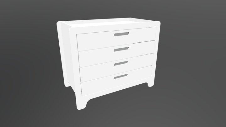 Cômoda Anis 3D Model