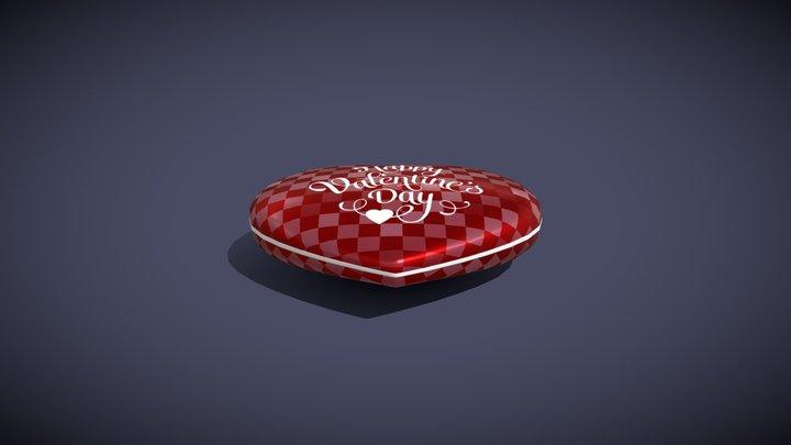 Heart Shaped Box 3D Model 3D Model