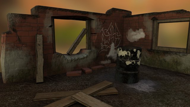 Ruins 3D Model