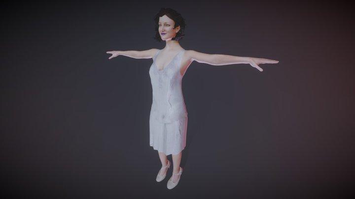 Pearl Avatar for High Fidelity 3D Model