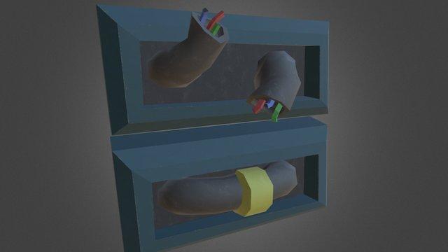 Broken / Repaired Pipe [Spaceship Indweller] 3D Model