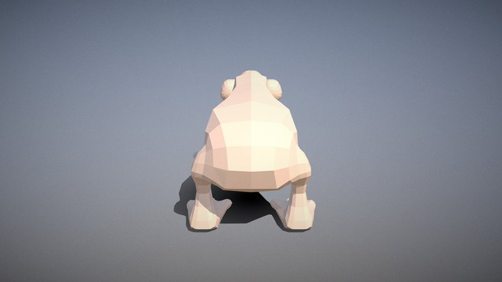 The Sapling: player created animal 1 3D Model