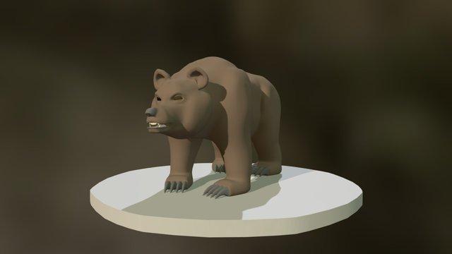 Bear Model 3D Model