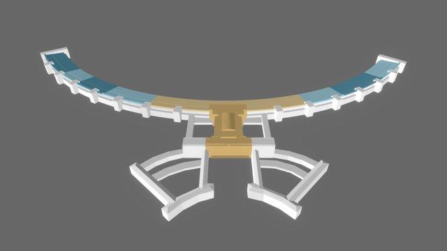 FLUGHAFEN TEMPELHOF 3D Model
