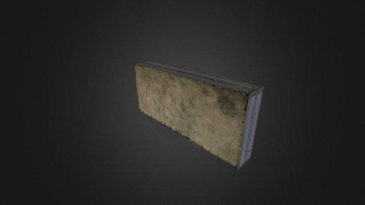 Metal Wall test 3D Model