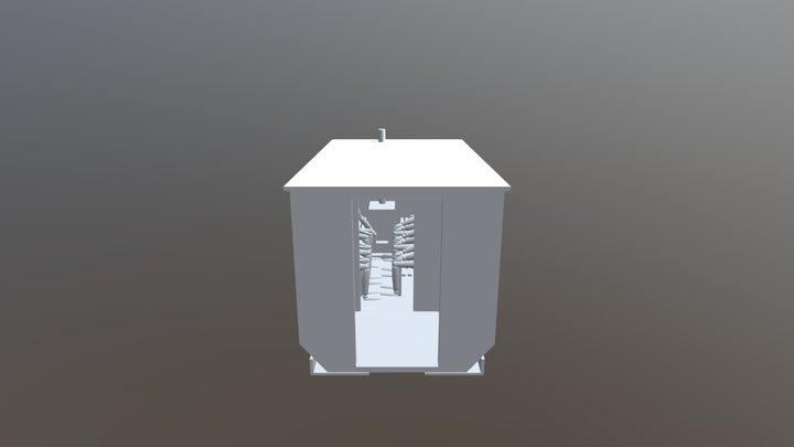 Saunaanhänger 3D Model