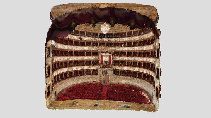 Teatro Valli, Reggio Emilia 3D Model