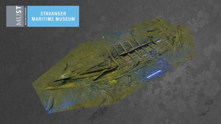 Eidebukta vrak 3D Model