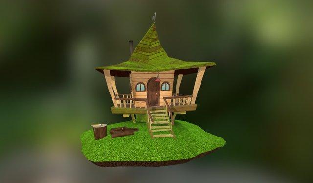 Forester's House 3D Model