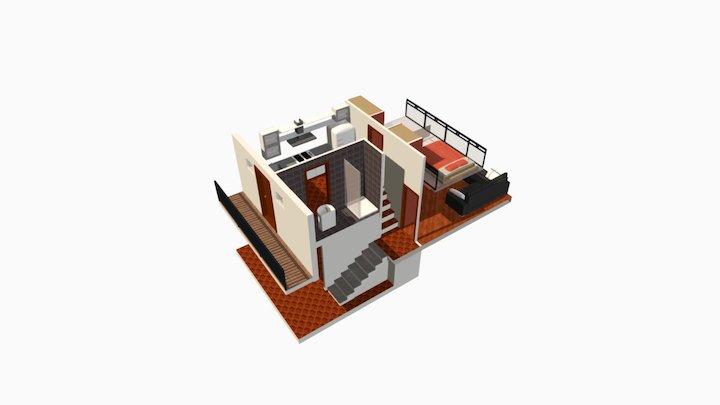 Loft Via Osimo Milano 3D Model