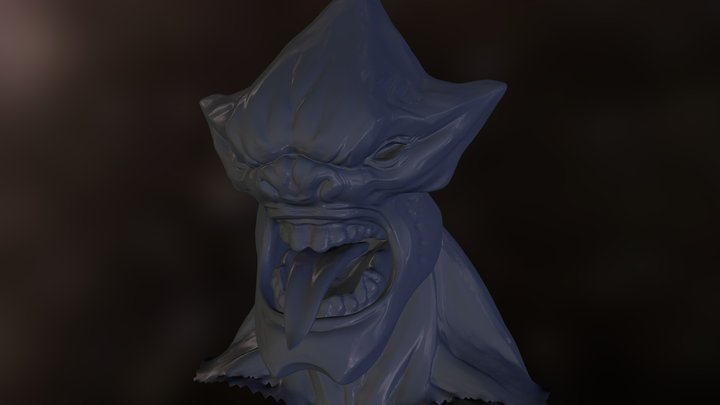 AlienBull 3D Model