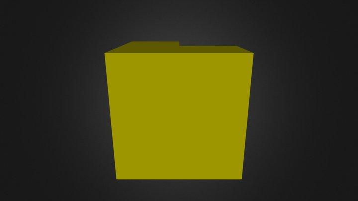 Yellow 3D Model