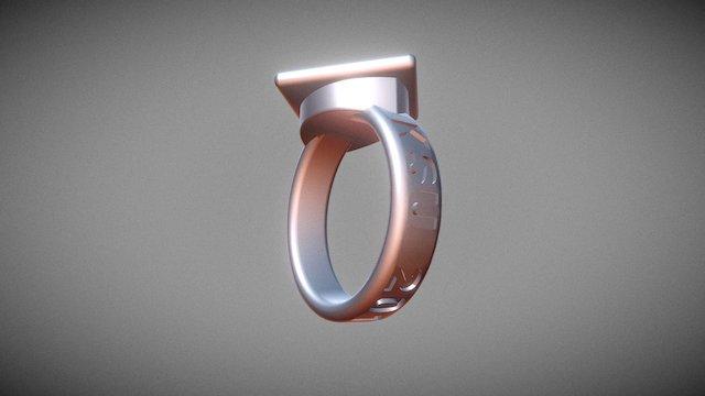 Ring No.4 Option 4 3D Model