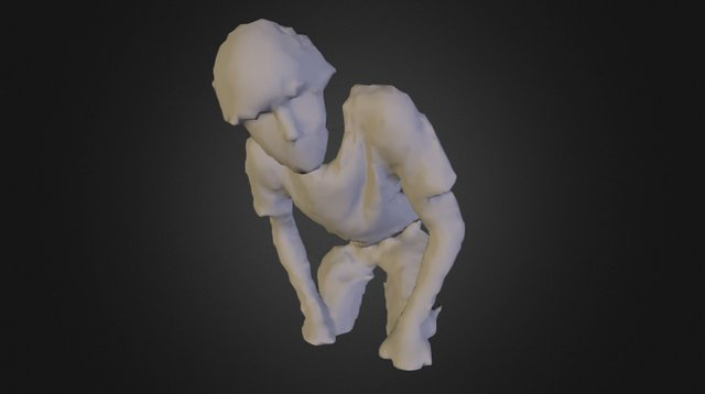 Kinect Scan of Me 3D Model