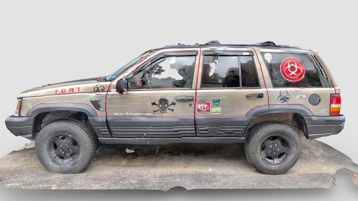 Day 11: Zombie Outbreak Response Team - Z.O.R.T. 3D Model