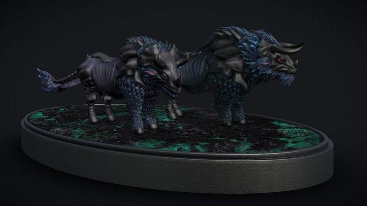 Bovyrn 3D Model