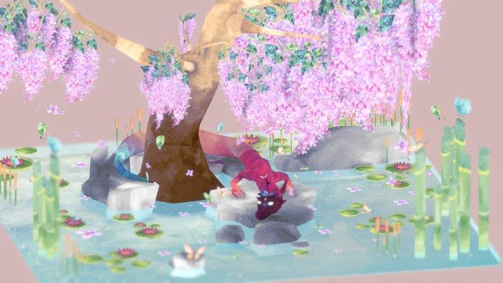 dragon star#FairyTaleChallenge 3D Model
