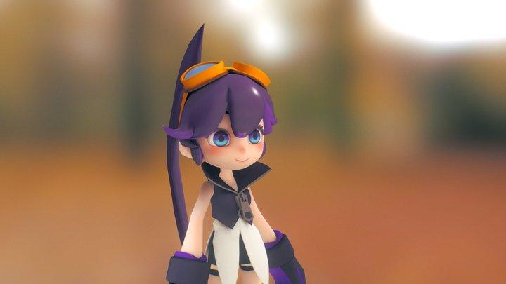 Girl (noname) 3D Model