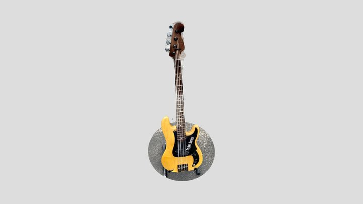Bass1 3D Model