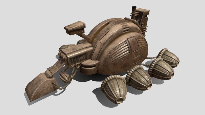 Spice Harvester of Arrakis from Dune 3D Model