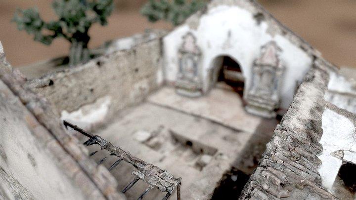 Igreja de São Domingos de Fortios 3D Model