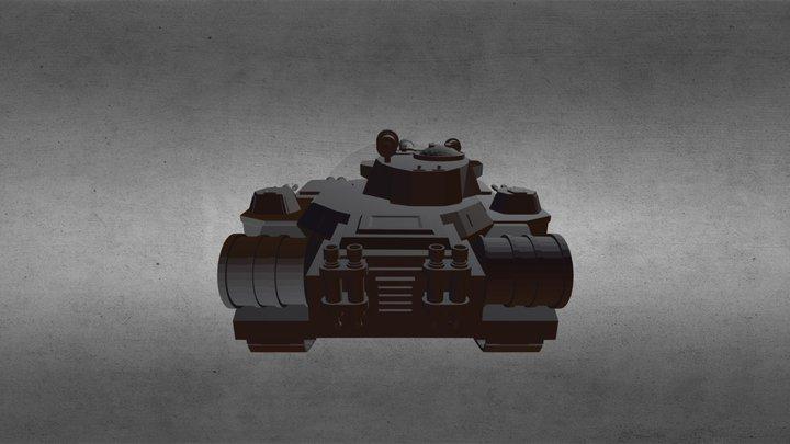 Bane Blade 3D Model