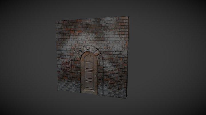 Wall Substance Painter test 3D Model