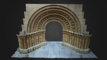 PORTADA ERMITA NTRA SEÑORA DE LA LLANA (BURGOS) 3D Model